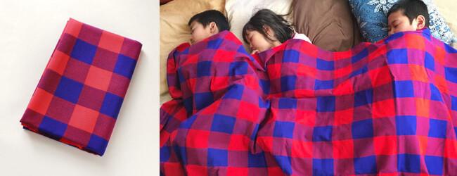 お昼寝毛布