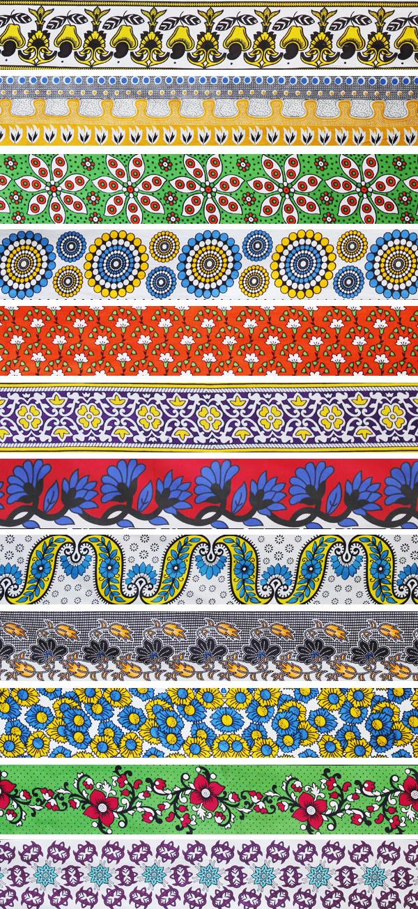 アフリカ布 柄