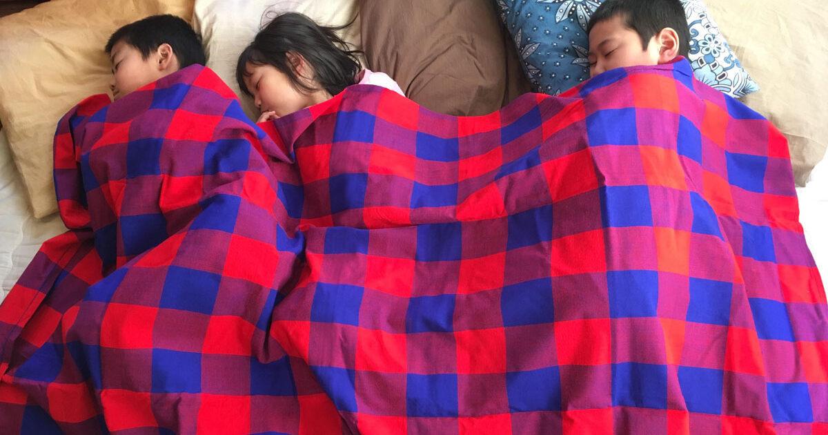 お昼寝 毛布